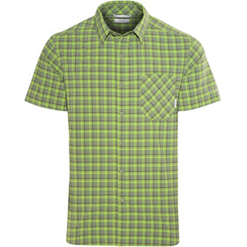 Columbia Triple Canyon SS Shirt Men mosstone plaid
